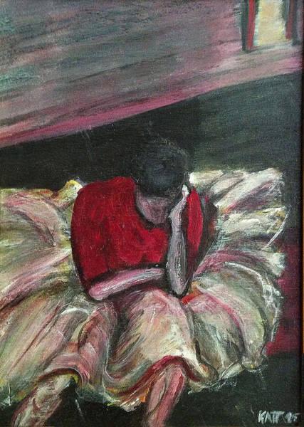 Painting - Ballerina After Practice by Katt Yanda