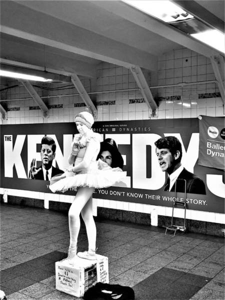 Photograph - Ballerina And The Kennedy's by Rob Hans