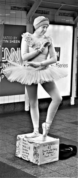 Photograph - Ballerina B W by Rob Hans