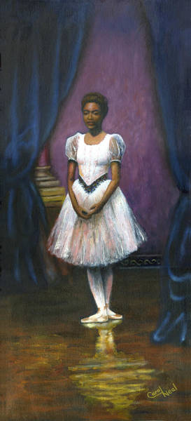 Wall Art - Painting - The Ballerina by Carol Neal-Chicago