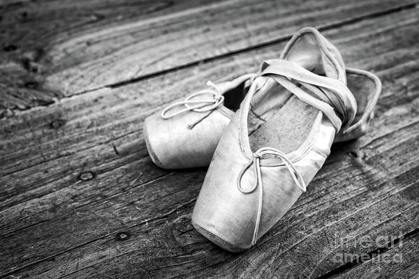 Wooden Shoe Photograph - Ballerina by Delphimages Photo Creations