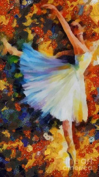 Painting - Ballerina Fragmented by Catherine Lott
