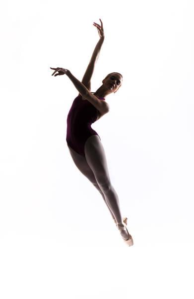 Dance Photograph - Ballerina Jump by Steve Williams