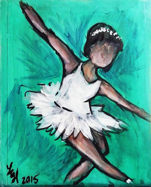 Painting - Ballerina by Loretta Nash