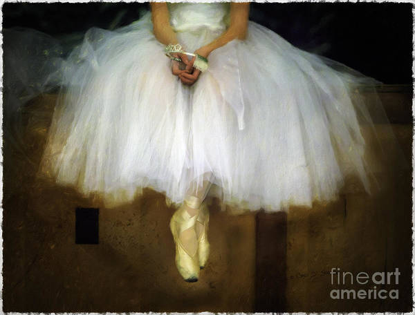 Photograph - Ballerina Repose by Craig J Satterlee