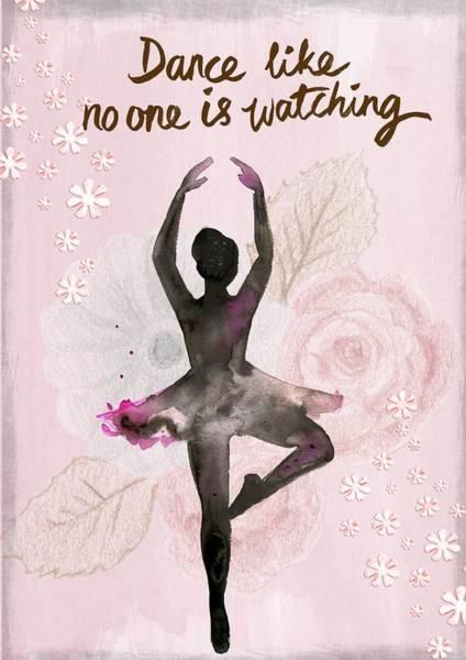 Painting - Ballerina Rose by Joy of Life Art Gallery