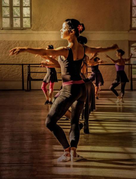 Photograph - Ballerina by Lou Novick