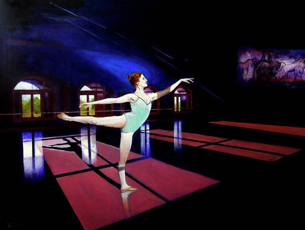 Wall Art - Painting - Ballet At Kaatsbaan by James Gallagher