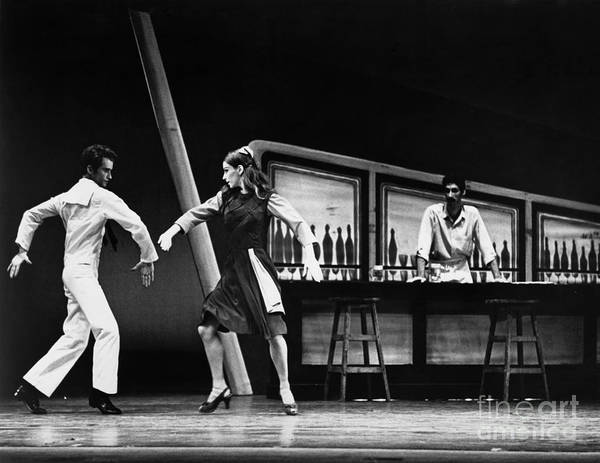 Photograph - Ballet Fancy Free C1970 by Granger
