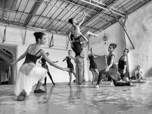 Photograph - Ballet Practice - Havana by Marla Craven
