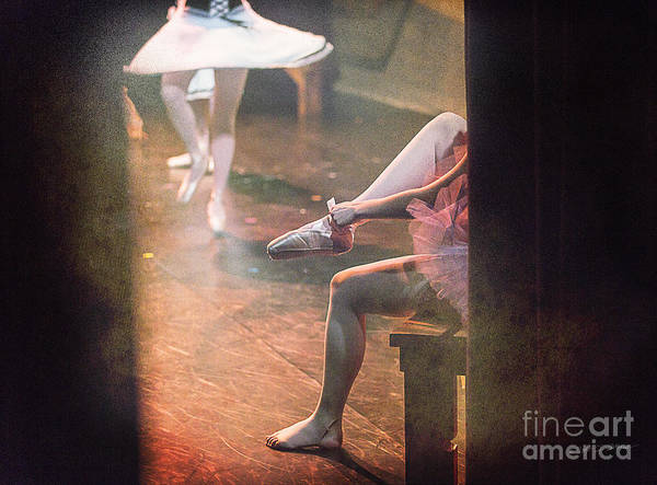 Photograph - Ballet Shoe Fitting by Craig J Satterlee