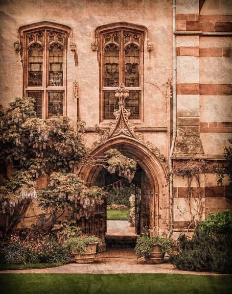 Photograph - Oxford, England - Balliol Gate by Mark Forte
