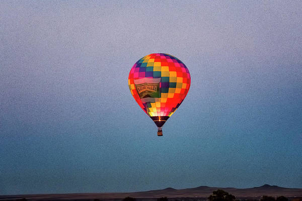 Photograph - Balloon At Dawn by Tom Singleton
