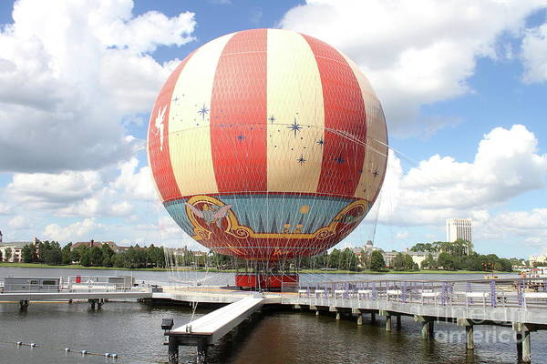 Photograph - Balloon At Disney Springs by Ken Keener