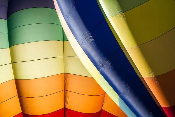 Photograph - Balloon Colors - Horizontal by Ron Pate