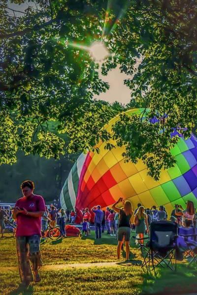 Balloon Fest Spirit Art Print
