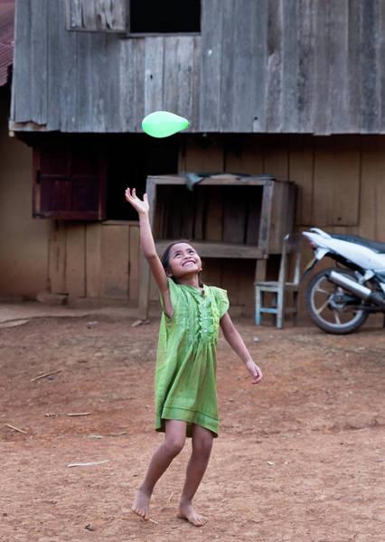Photograph - Balloon Girl by Matt Shiffler