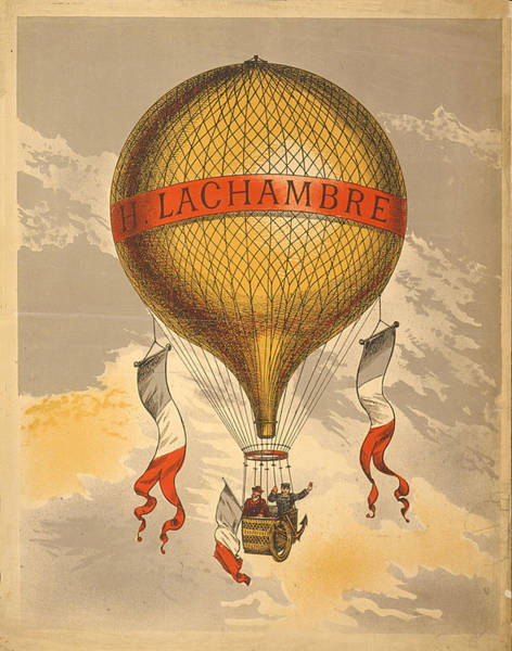 Photograph - Balloon - Lachambre by Richard Reeve