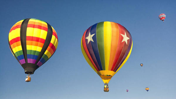 Balloon Festival Photograph - Balloon Launch by Robert Fawcett