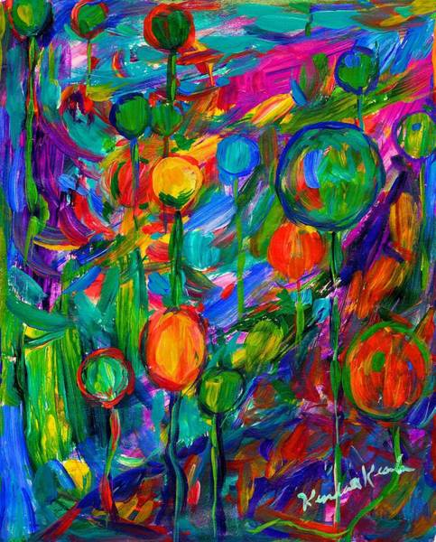 Painting - Balloon Ride by Kendall Kessler