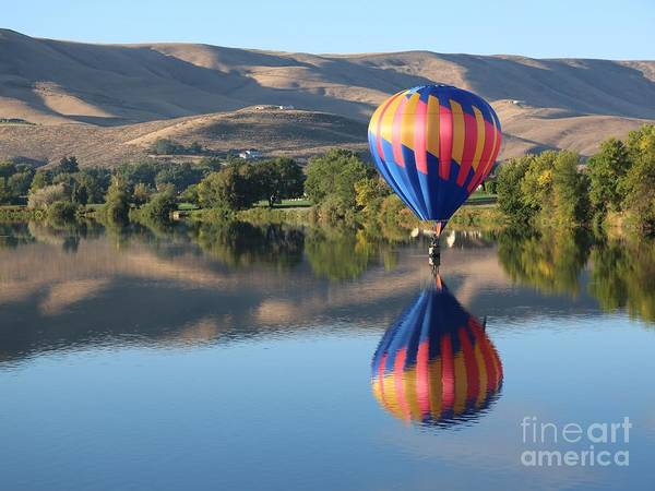 Photograph - Balloon Touch Down by Carol Groenen
