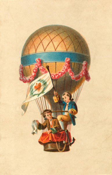 Photograph - Balloon Trip For The Boys by Richard Reeve