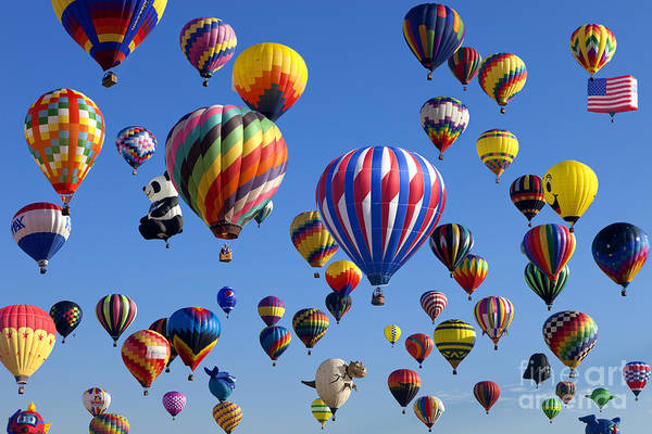 Wall Art - Photograph - Ballooning Festival by Anthony Totah