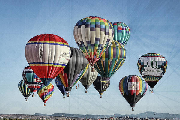 Photograph - Ballooning by Marie Leslie