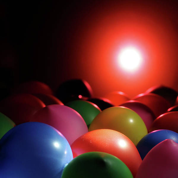 Photograph - Balloonland  by Stephen Dorsett