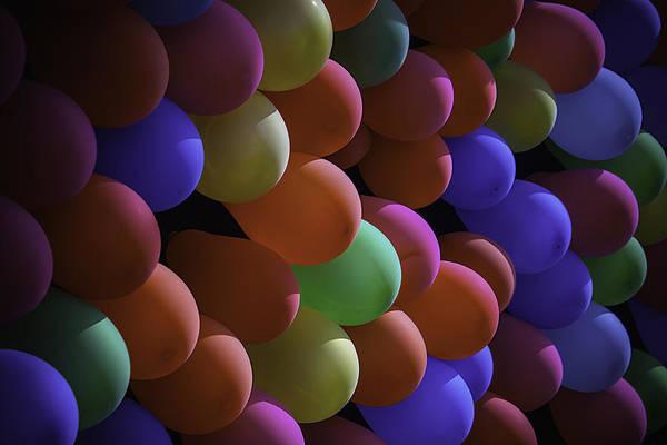 Balloon Festival Photograph - Balloons At The Fair by Garry Gay
