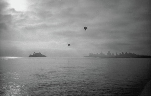 Photograph - Balloons Over San Francisco Bay by Frank DiMarco