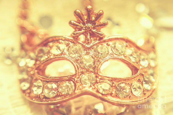 Masquerade Wall Art - Photograph - Ballroom Glitter by Jorgo Photography - Wall Art Gallery