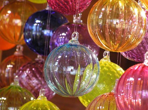 Balls Of Glass Art Print by Richard Mansfield