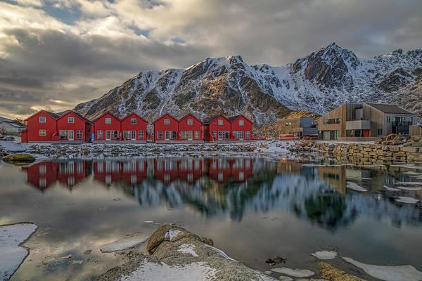 Berge Wall Art - Photograph - Ballstad, Lofoten - Norway by Joana Kruse