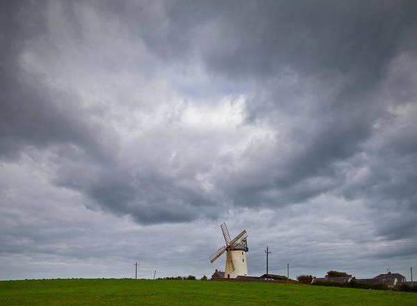 Imposing Wall Art - Photograph - Ballycopeland Windmill, Built Circa by Panoramic Images