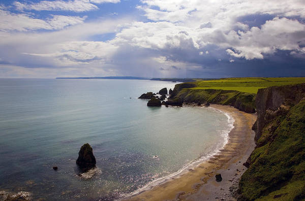 Windswept Photograph - Ballydowane Beach, Copper Coast, County by Panoramic Images