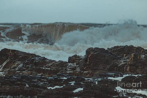 Photograph - Ballyquinn Beach Waves 1 by Marc Daly