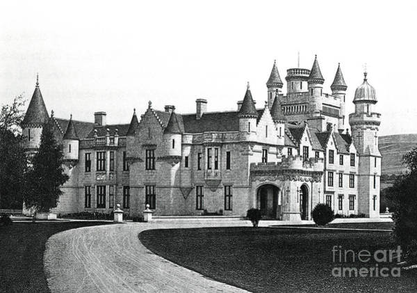 Wall Art - Drawing - Balmoral Castle  by English School