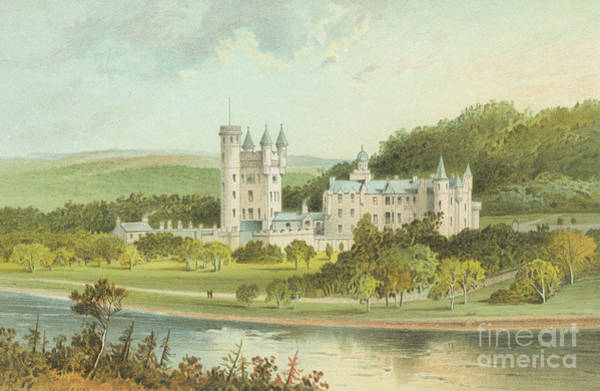 Wall Art - Painting - Balmoral Castle, Scotland by English School