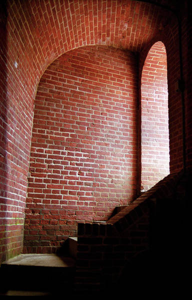 Photograph - Baltimore - Dark Brick Passageway 2003 by Frank Romeo