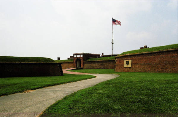 Photograph - Baltimore - Fort Mchenry Winding Path 2003 by Frank Romeo