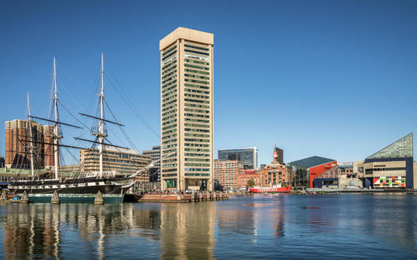 Photograph - Baltimore Harbor by Framing Places