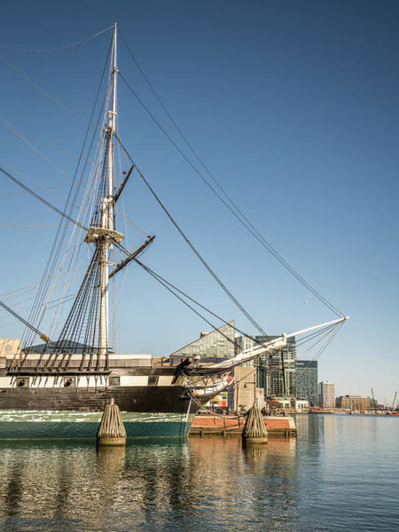 Photograph - Baltimore Harbor Portrait by Framing Places