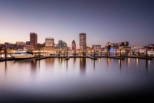 Photograph - Baltimore Harbor by Ryan Wyckoff