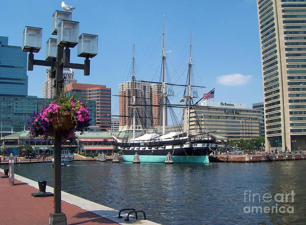 Baltimore Inner Harbor Art Print