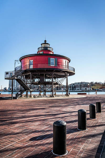 Photograph - Baltimore Lighthouse Portrait by Framing Places