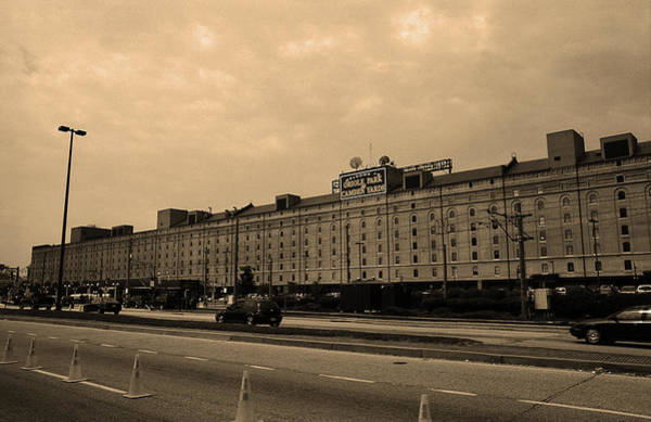 Photograph - Baltimore Orioles Park At Camden Yards #3 Sepia by Frank Romeo