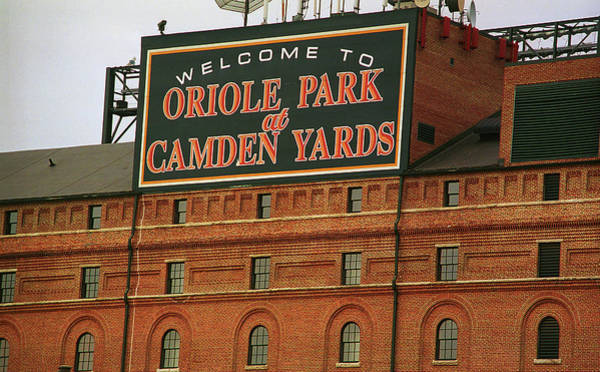 Americana Photograph - Baltimore Orioles Park At Camden Yards by Frank Romeo