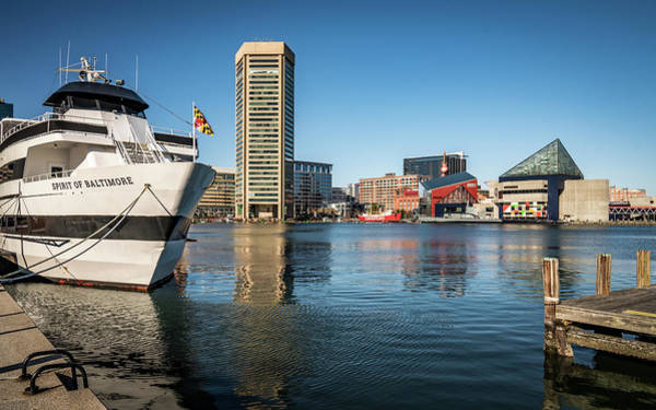 Photograph - Baltimore Ship And Harbor by Framing Places