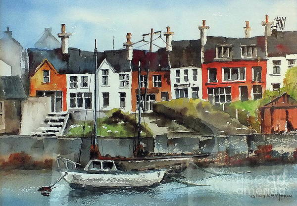 Painting - F 712   Baltimore, West Cork. by Val Byrne